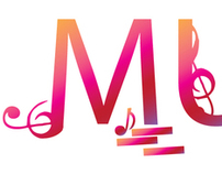 music typographic