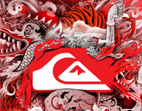 Quiksilver T-shirt design competition winners 2010