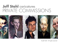 CARICATURES - Private commissions