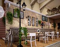 Napoly street cofe shop