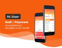 UX/UI Case Study - Payoneer