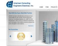 ACEE Website Design