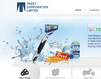 Treet Corporation Limited Website Design