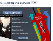 Professional Reporting Services Facebook Fan page