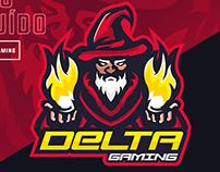 Logotipo - Delta Gaming