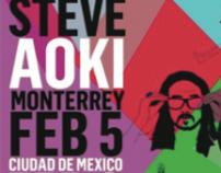 Steve Aoki @ Covadonga Ciudad de México