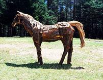Horse / At ( 2012 ) Ahşap Heykel