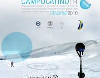 Snow kite poster