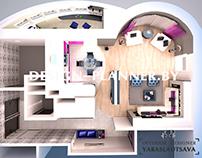3dmax graphic visualization of interior design #9 2014