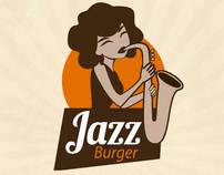 Branding Identity Jazz Burger