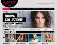 Soha Fashion - Web Design Layout
