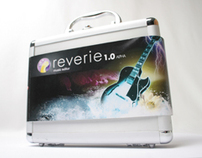 REVERIE - Audio editing software packaging
