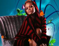 Abstract Rihanna