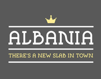 ALBANIA typeface
