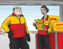 DHL - Campaña de banners