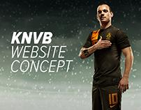 KNVB Concept Website