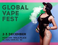 Global Vape Fest Banner