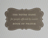Notre Dame Book of Prayer for People Affected by Cancer