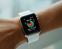 Countdown Timer - Fitness App - Apple Watch - Wearable