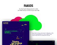Faasos Bangalore Store Launch, Social Pramotion