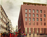 Parking w kamienicy - architectural competition