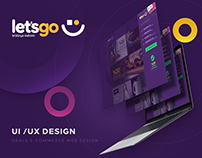 Let's Go - Deals E-Commerce Web Design
