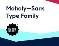 Moholy—Sans Font Family