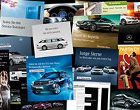 Mercedes-Benz Online Campaigns and Styleguide