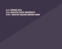 WSU Graphic Design Senior Show
