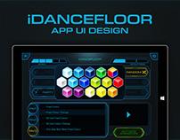 iDancefloor APP UI Design