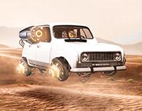R4 IN THE DESERT
