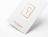 Cody Williams Logo Design