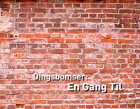 Dingsbomser: One More Time