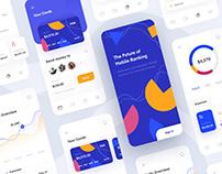 Mobile banking system app