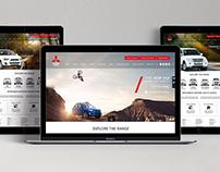 Mitsubishi Motors SA Website