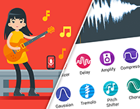 UI/UX - SoundSuite- Material Design - Android