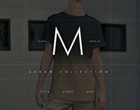 T-Shirt Mock-Up/Urban Collection (1 free)