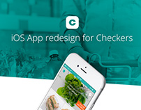 iOS App redesign for Checkers