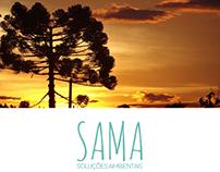 Identidade Visual Sama Soluções Ambientais