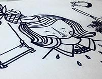 Fachada Ilustrada - Nina Garimpa