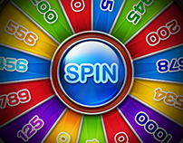 Bonus wheel for online casino