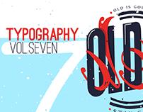 Typography VOL.7