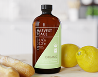 """Harvest Peace"" olive oil visual"