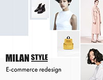 MilanStyle - Redesign