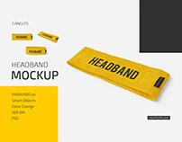 Headband Mockup Set