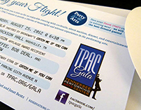 TPAC Gala Invitation and Program