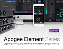 Apogee Element Series Launch Video