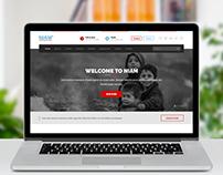 NIAM NGO Website by ravisah.in