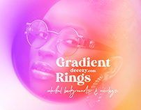 Free Color Gradient Rings & Overlays