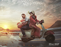 Pre - Wedding | Photo Manipulation
